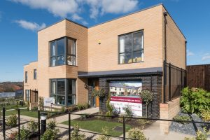 Contemporary modern homes feature at the Aspens development in Birtley.