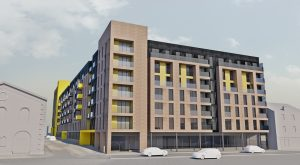 An indicative CGI of the proposed development.